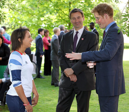 Prince Harry Shows His Silly Side at a Youth Reception