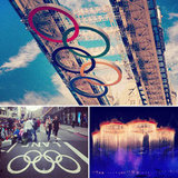 Olympic Rings Around the World