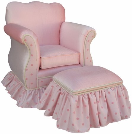 Child Empire Chair in Cotton Candy ($468)