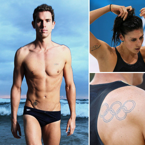 Olympians With Olympic Ring Tattoos