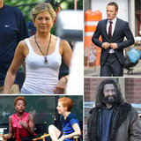 Jennifer Aniston, Hugh Jackman, Michael Fassbender, and More Stars on Set
