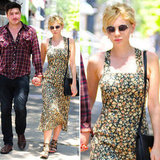 Love Carey Mulligan's floral dress? Get the look.