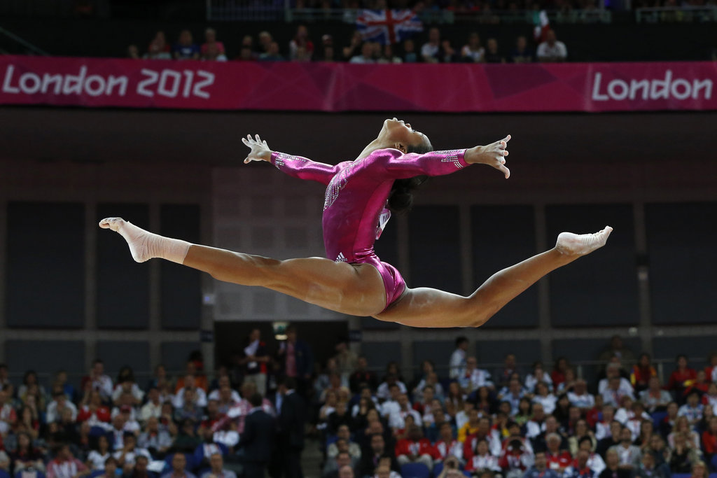 """Sacrifices are not in vain. At the end, everything will pay off.""  — Gabby Douglas on staying positive"