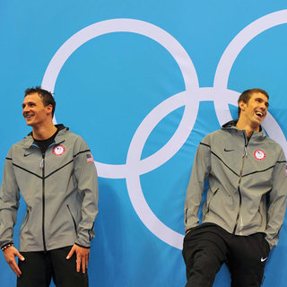 Ryan Lochte and Michael Phelps at 2012 Olympics | Pictures