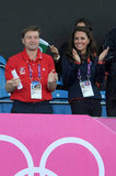 Kate Middleton cheered on Team GB's hockey team on day seven of the Olympics.