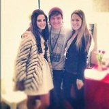 Chris Lilley met Lana Del Rey. Source: Instagram user chrislilley