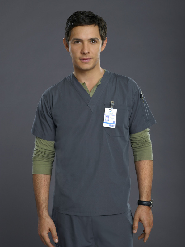 Michael Rady as Micah on Emily Owens, M.D.
