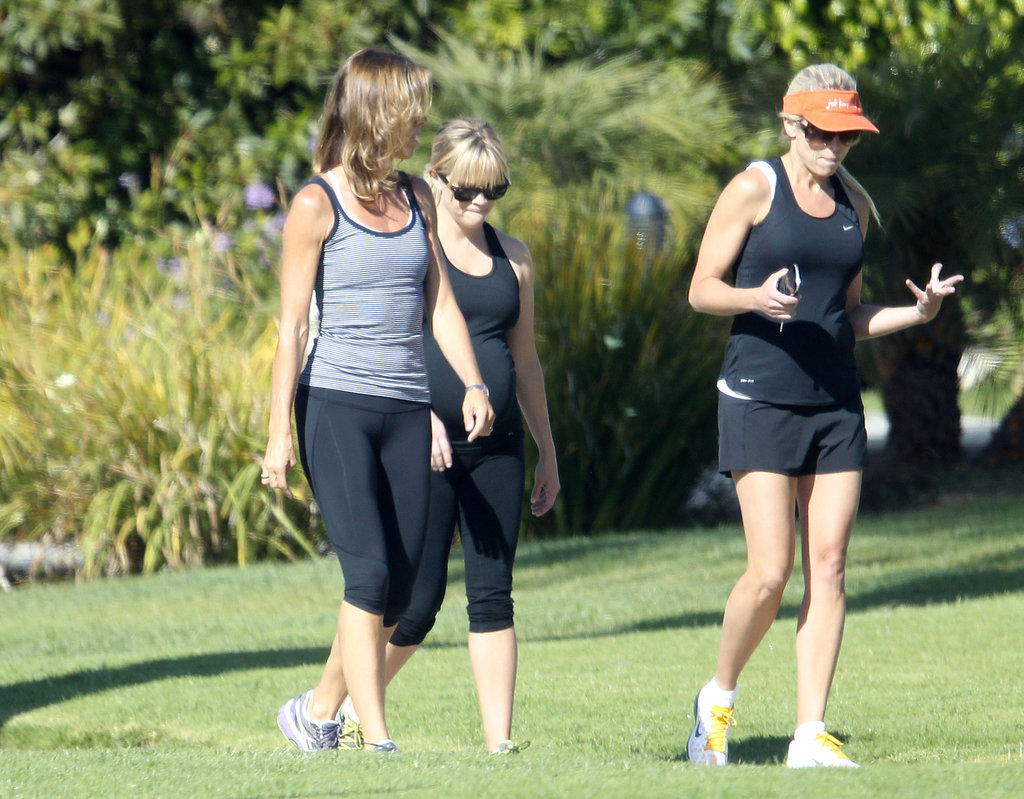 Reese Witherspoon went walking with friends.