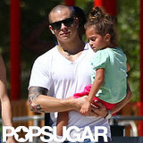 Casper Smart held onto Emme Anthony.