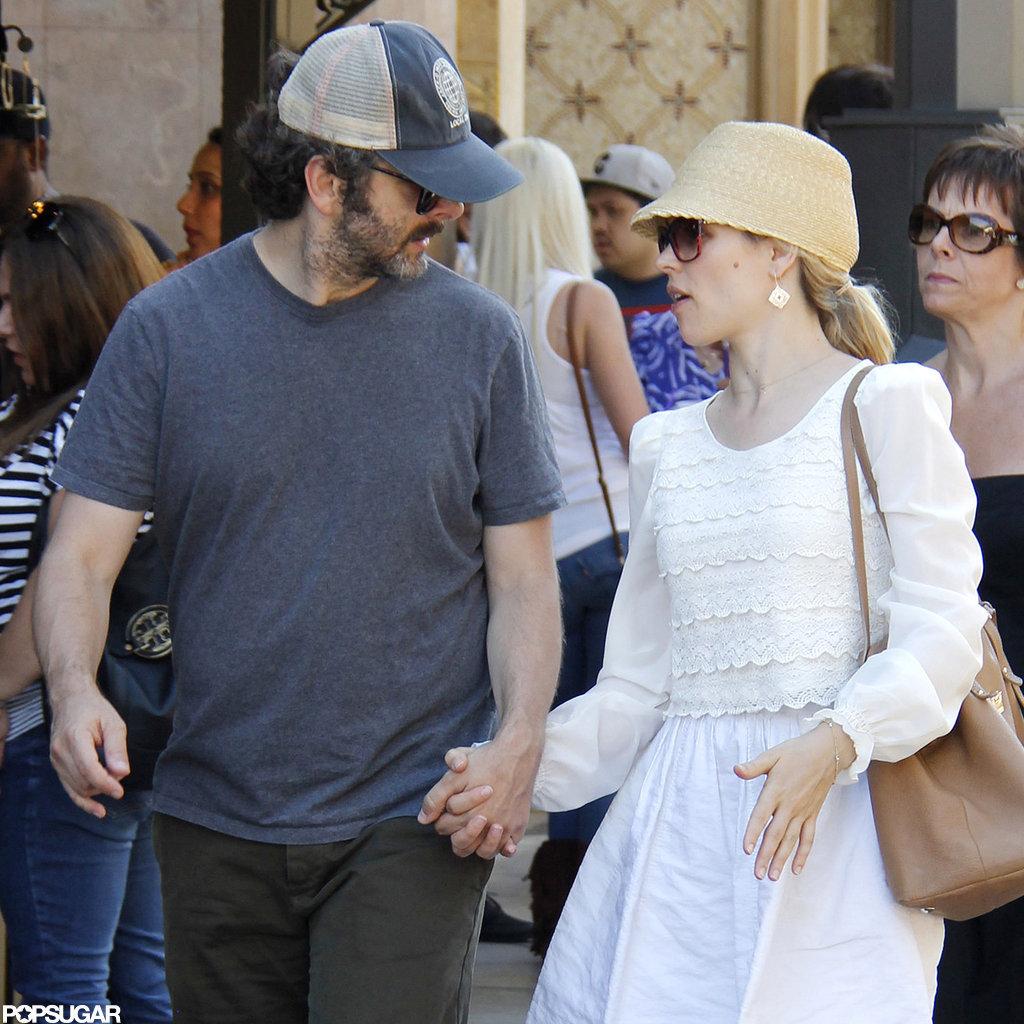 Rachel McAdams and Michael Sheen held hands at The Grove.