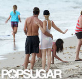 Gwen Stefani and Gavin Rossdale were arm in arm while on vacation.