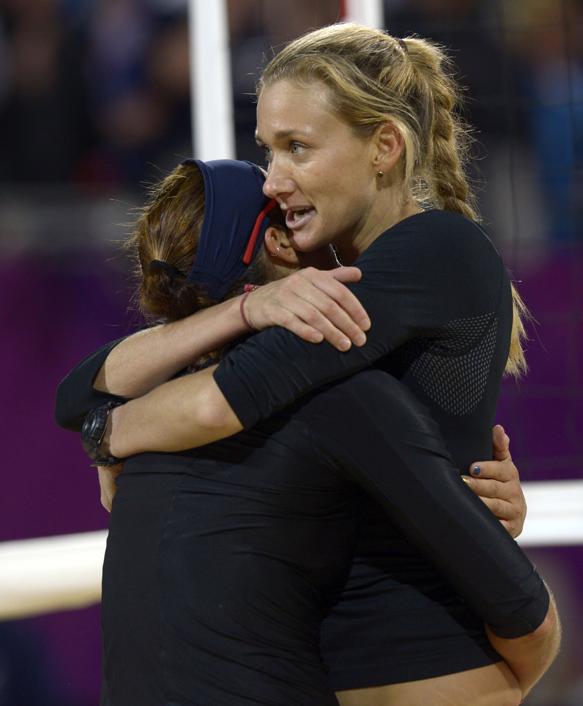 """I think the hard part is over. Now it's time for us to play."" — Kerri Walsh's fresh perspective on the London Games"