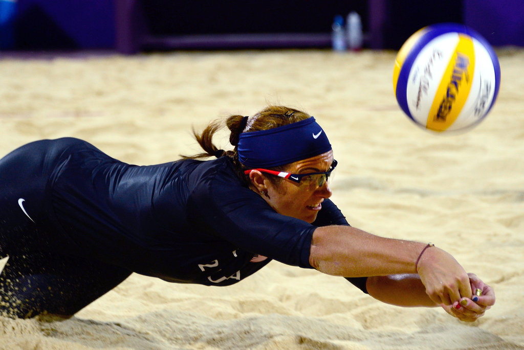 """""""Rest, rest, rest, rest, rest. Nutrition is obviously very important, but rest is equally important . . . at rest is when your body is trying to recover."""" — Misty May-Treanor's number one health tip"""