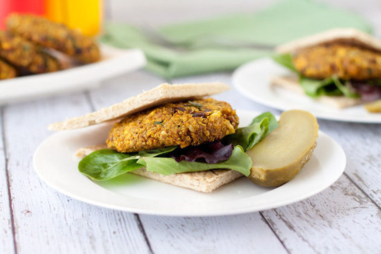Based on the Biryani style of Indian cuisine,  this curry quinoa burger recipe packs in the heat, helping get you on your way to goosebump city. Source: Healthful Pursuit