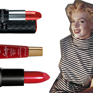 Remember Marilyn Monroe With Our Top 5 Red Lip Products