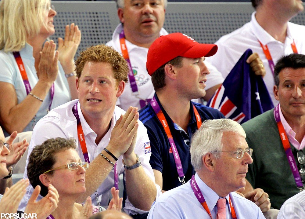 Prince Harry Gets Into the Spirit of the Games