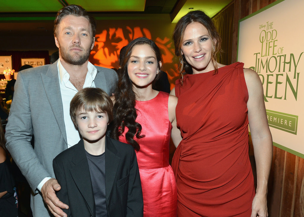 Jennifer Garner, Joel Edgerton, CJ Adams and Odeya Rush starred in the film The Odd Life of Timothy Green.