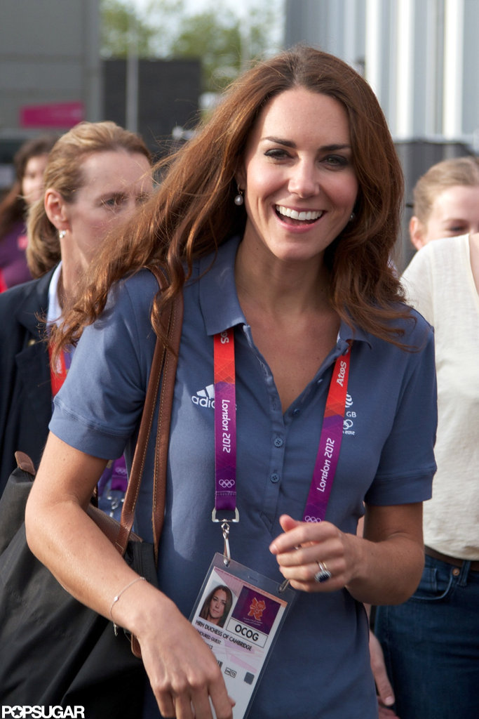 Kate Middleton laughed at the Olympics.
