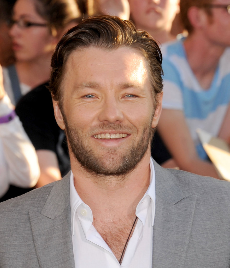 Joel Edgerton smiled.