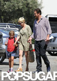 Michelle Williams, Matilda Ledger, and Jason Segel hung out.