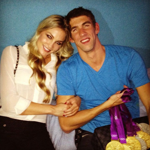 Michael Phelps Girlfriend Megan Rossee | Pictures