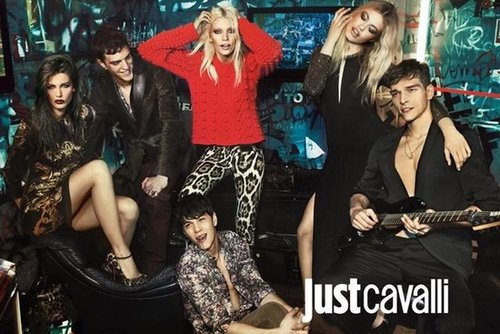As per usual, Just Cavalli strikes the right balance between exotic prints, classic knits, and all our rocker-chick cool.
