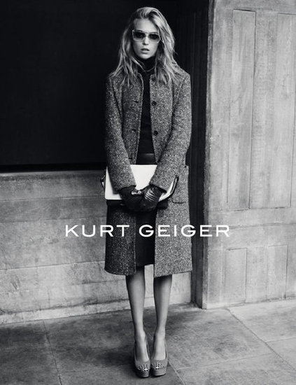 Just add gloves and you're set, according to Kurt Geiger's Fall campaign.