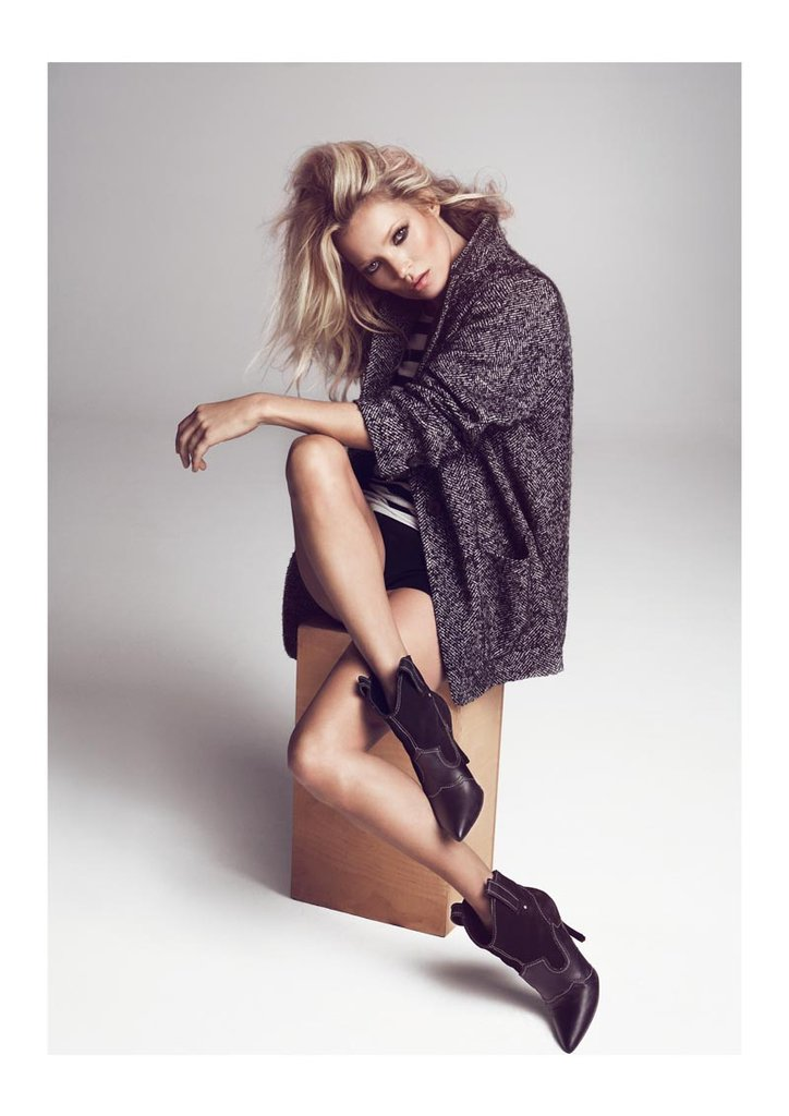 Kate Moss has never looked better than she does in Mango's latest Fall '12 campaign.