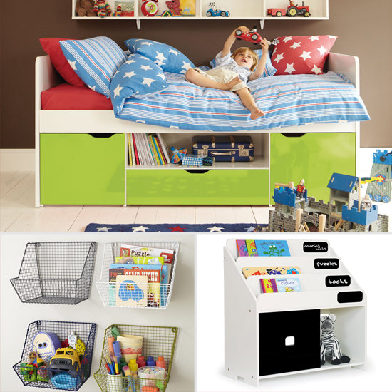 Storage solutions for small kids 39 rooms popsugar moms - Kids room storage ideas for small room ...