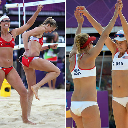 Americans Face Off in Beach Volleyball Finals