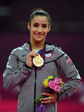"""Today has been a dream come true. I'm so glad I got the medal I wanted.""  — Aly Raisman on how she felt after winning gold in the floor exercise"