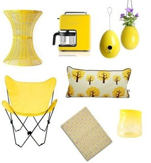 Yellow Home Decor Shopping For Spring