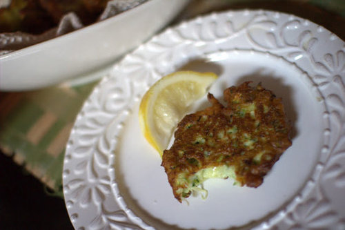 Zucchini Ricotta Fritters