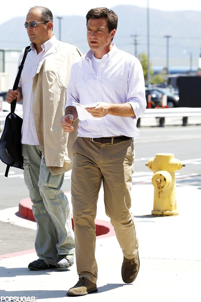 Jason Bateman headed into a studio to shoot new scenes.