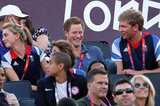 The Beckham Boys and Prince Harry Take in Day 12 of Olympic Action