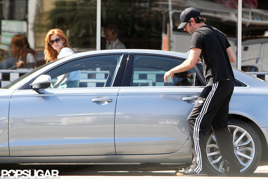 Sacha Baron Cohen and Isla Fisher Sneak In Some Alone Time
