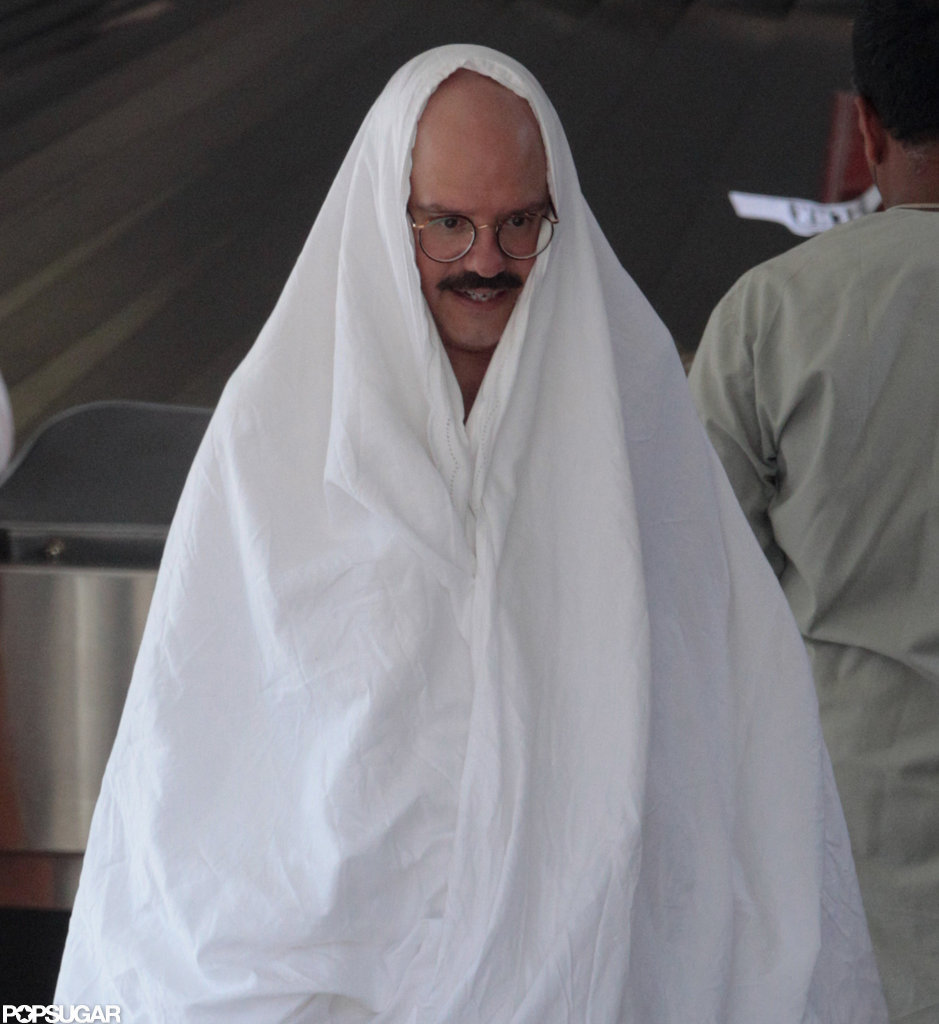 David Cross's character, Tobias Funke, got a laugh from the crew.
