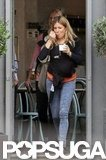 Sienna Miller grabbed some frozen yogurt.