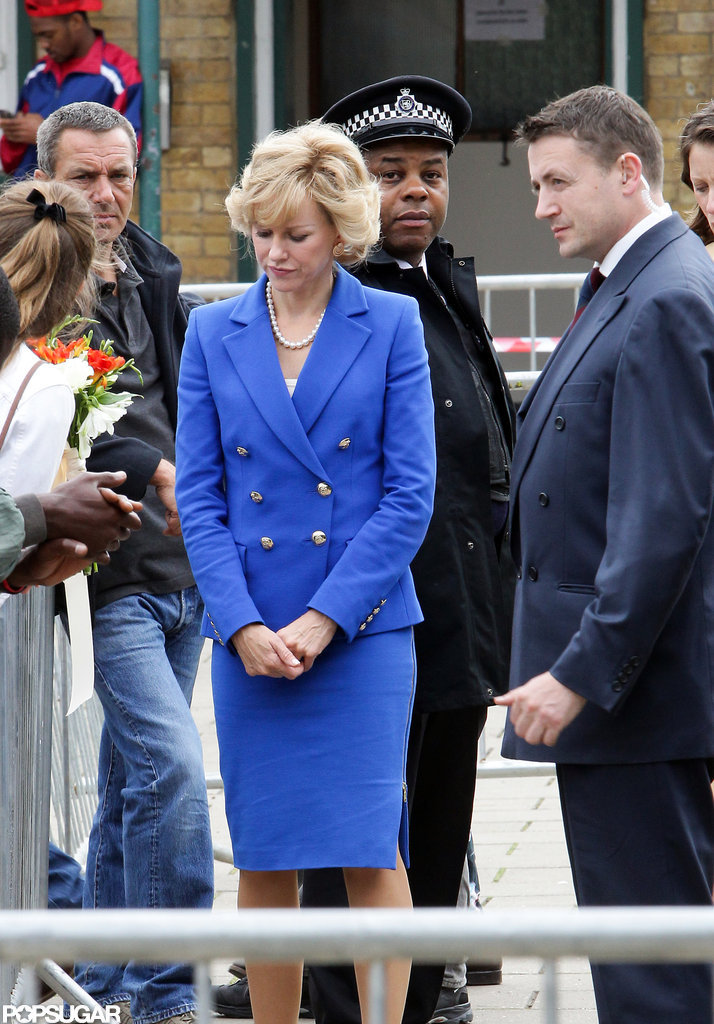 Naomi Gets Into Her Royal Role on Set in England