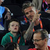David Beckham Watches Olympic Volleyball | Pictures