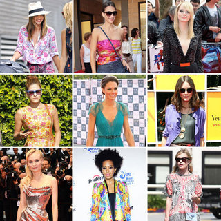 Best Celebrity Summer Fashion 2012