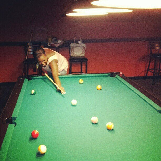Play Pool at a Bar