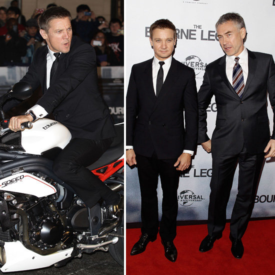 Jeremy Renner Shows a Hint of His Sweet Side at Sydney's Bourne Legacy Premiere