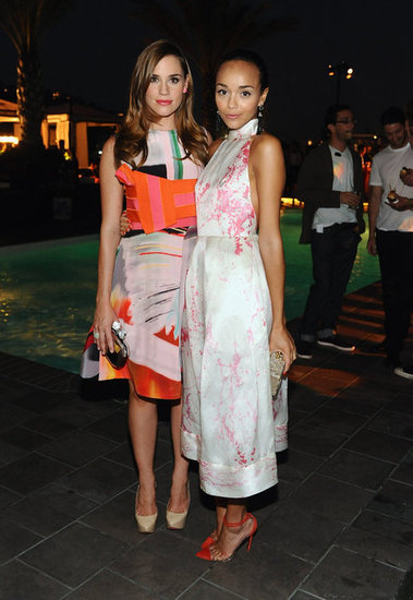 Christa B. Allen and Ashley Madekwe
