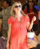Reese Witherspoon donned oversized shades while food shopping in LA.