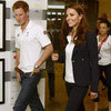 Kate Middleton Pictures at 2012 Olympics Watching Synchronised Swimming
