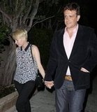 Michelle Williams and Jason Segel held hands while out in LA.