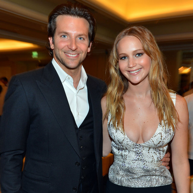 Jennifer Lawrence, Bradley Cooper, Christina Hendricks Pictures at Hollywood Foreign Press Association Lunch