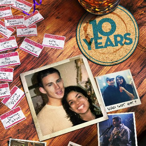 10 Years Poster With Channing Tatum