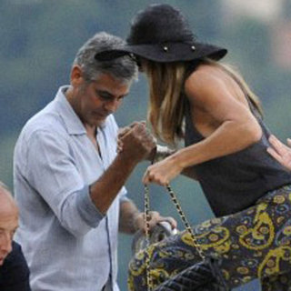 George Clooney and Stacy Keibler at Como | Pictures